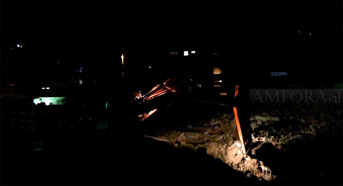 Gërmimet gjatë natës rrezikojnë arkeologjinë dhe mozaikun, në një nga projektet e bashkisë Durrës