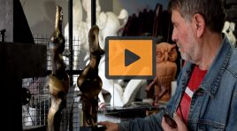 Qazim Kërtusha, artisti ku bashkohet skulptura me arkeologjinë